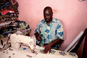 The gender of local tailor is predominantly male