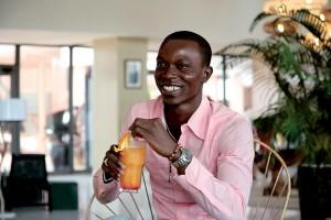 Stéphane Gnago, Responsible for communication Dakar fashion week, Ivory Coast.