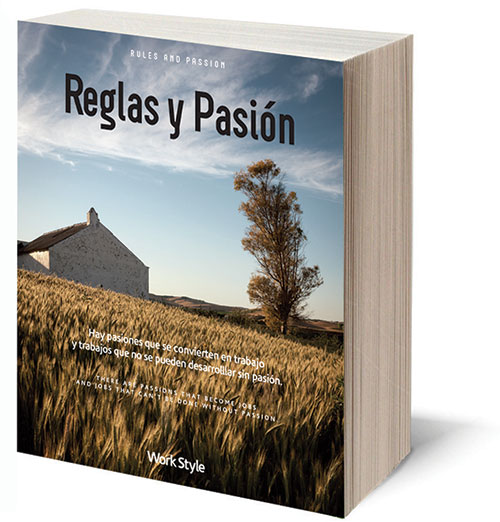 The Book Rules and Passion (ISBN: 978-88-906114-0-7). Cover price 24 Euros, Published by GWH (SA).