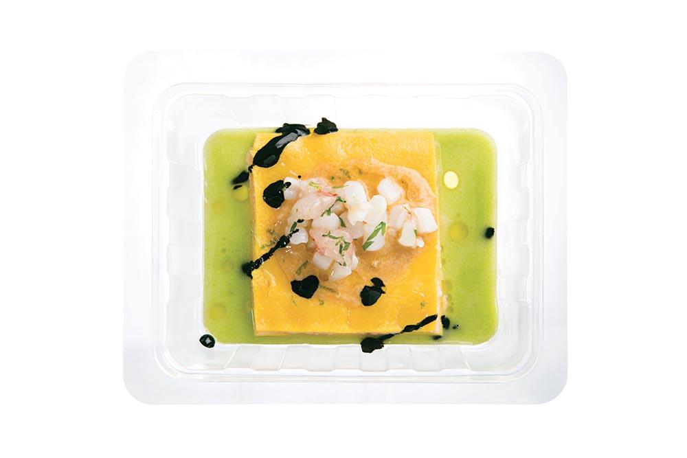 white sea lasagna