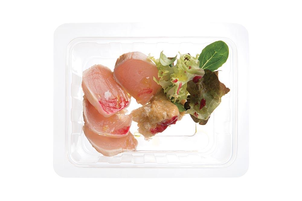 tataki of white tuna
